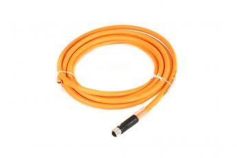 CABLE 4G1,5 MMQ + SOCKET M12  5,0MT